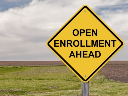 Caution - Open Enrollment Ahead